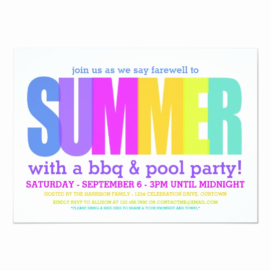 End Of Summer Party Invitation Fresh Army Boots Send F Party Invitation