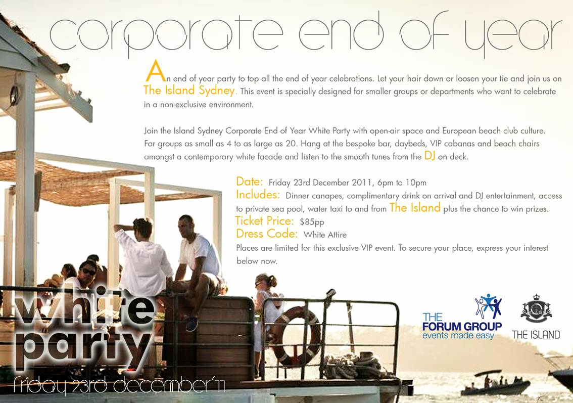 End Of Year Celebration Invitation Awesome Corporate End Of Year White Party