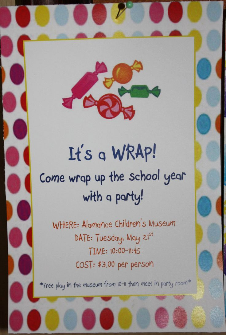 End Of Year Celebration Invitation Awesome Invitations I Designed for My Daughters End Of the School