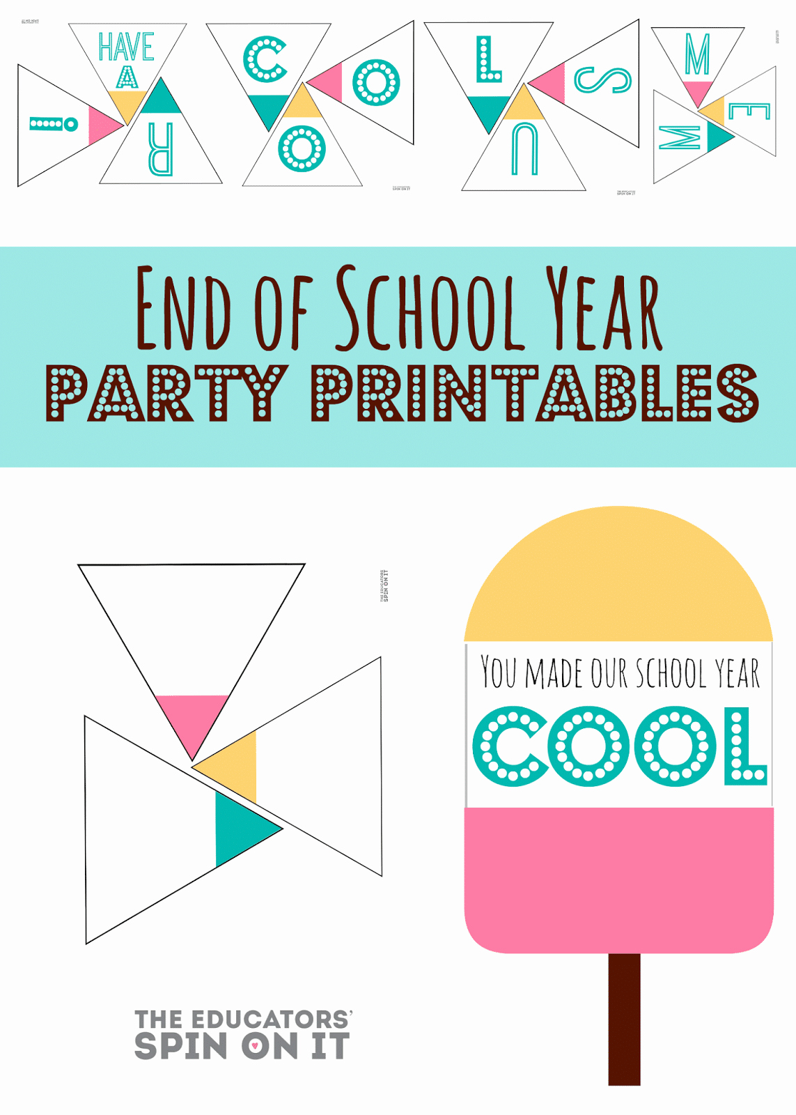 End Of Year Celebration Invitation Luxury End Of School Year Party Idea the Educators Spin It