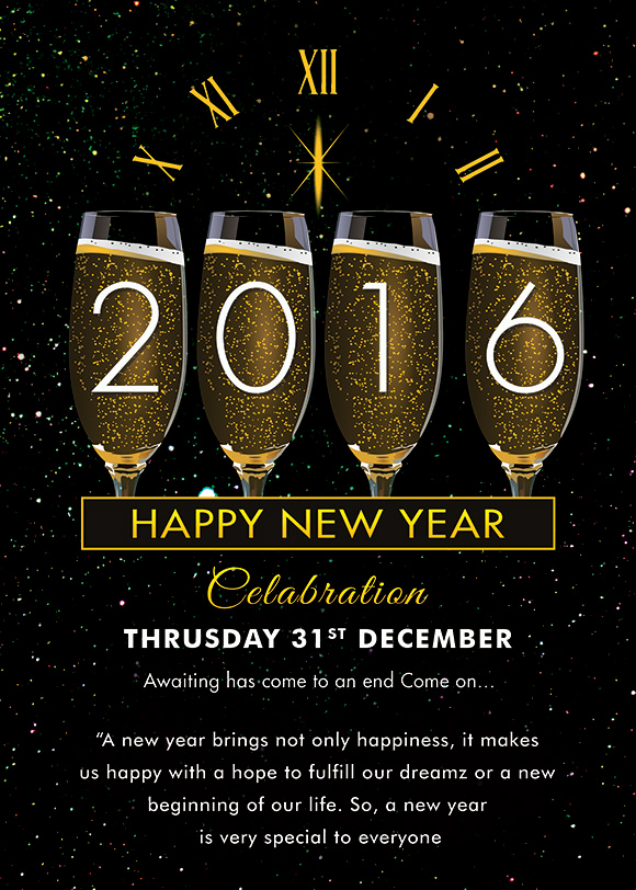 End Of Year Celebration Invitation New Sample New Year Invitation Templates 24 Download