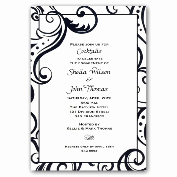 Engagement Party Invitation Templates Awesome 17 Best Images About Beautiful Wedding Stuff On Pinterest