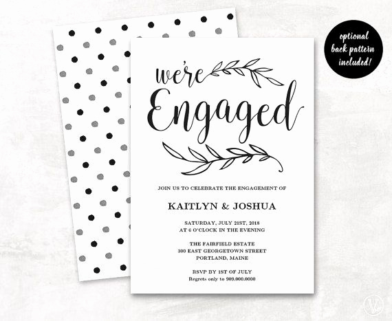 Engagement Party Invitation Templates Best Of Best 25 Engagement Invitation Template Ideas On Pinterest