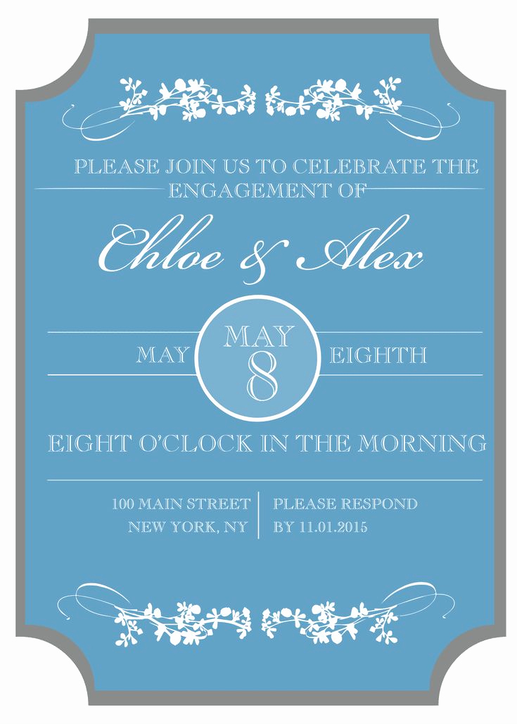 Engagement Party Invitation Templates Elegant Best 25 Engagement Party Invitations Ideas On Pinterest