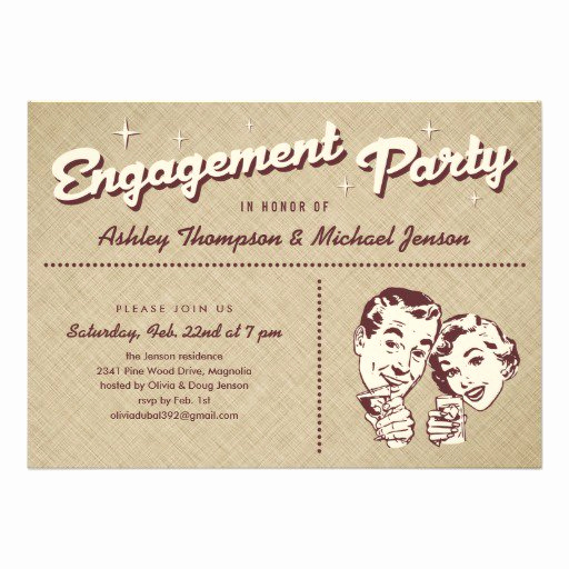 Engagement Party Invitation Templates New Fun Engagement Party Invitation Wording