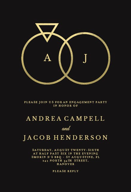 Engagement Party Invitation Templates Unique Engagement Party Invitation Templates Free
