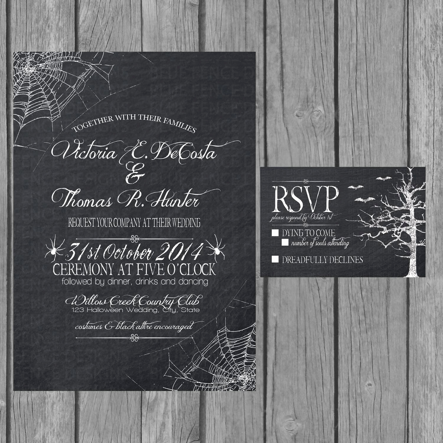 Engagment Party Invitation Wording Beautiful Halloween Wedding Invitation Chalkboard Engagement Party