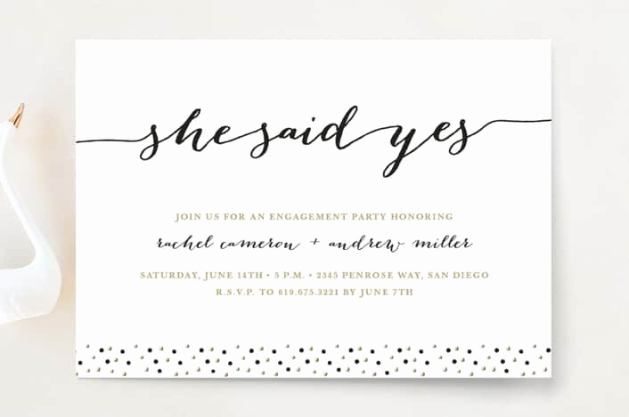 Engagment Party Invitation Wording Best Of How to Word Engagement Party Invitations with Examples