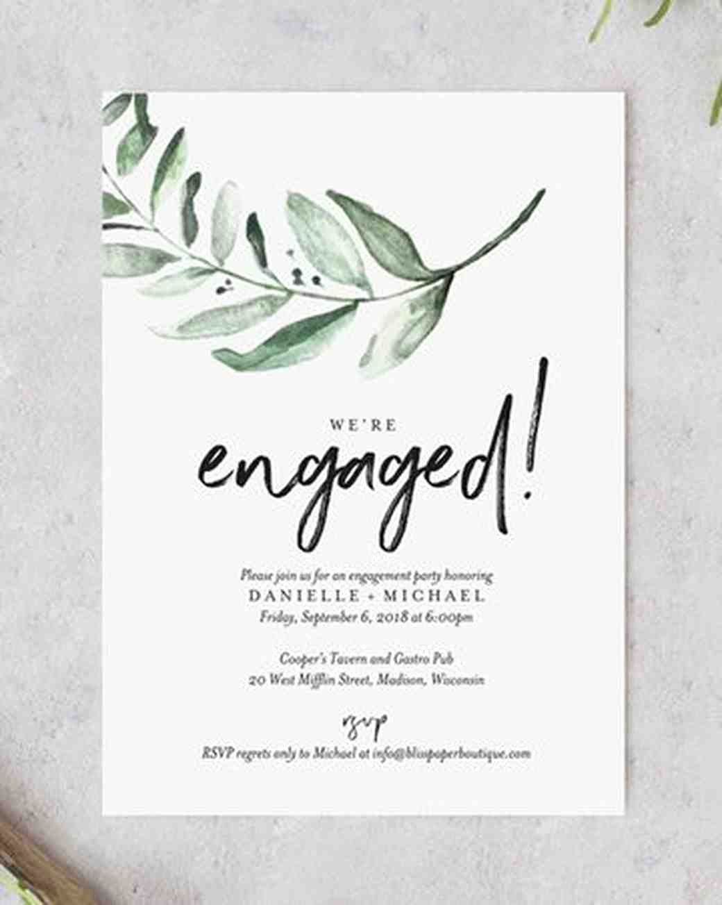 Engagment Party Invitation Wording Luxury 20 Engagement Party Invitations