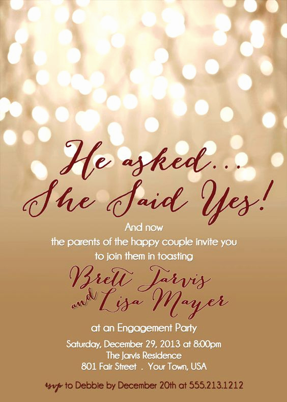 Engagment Party Invitation Wording New Engagement Party Invitation Printable Diy Invite