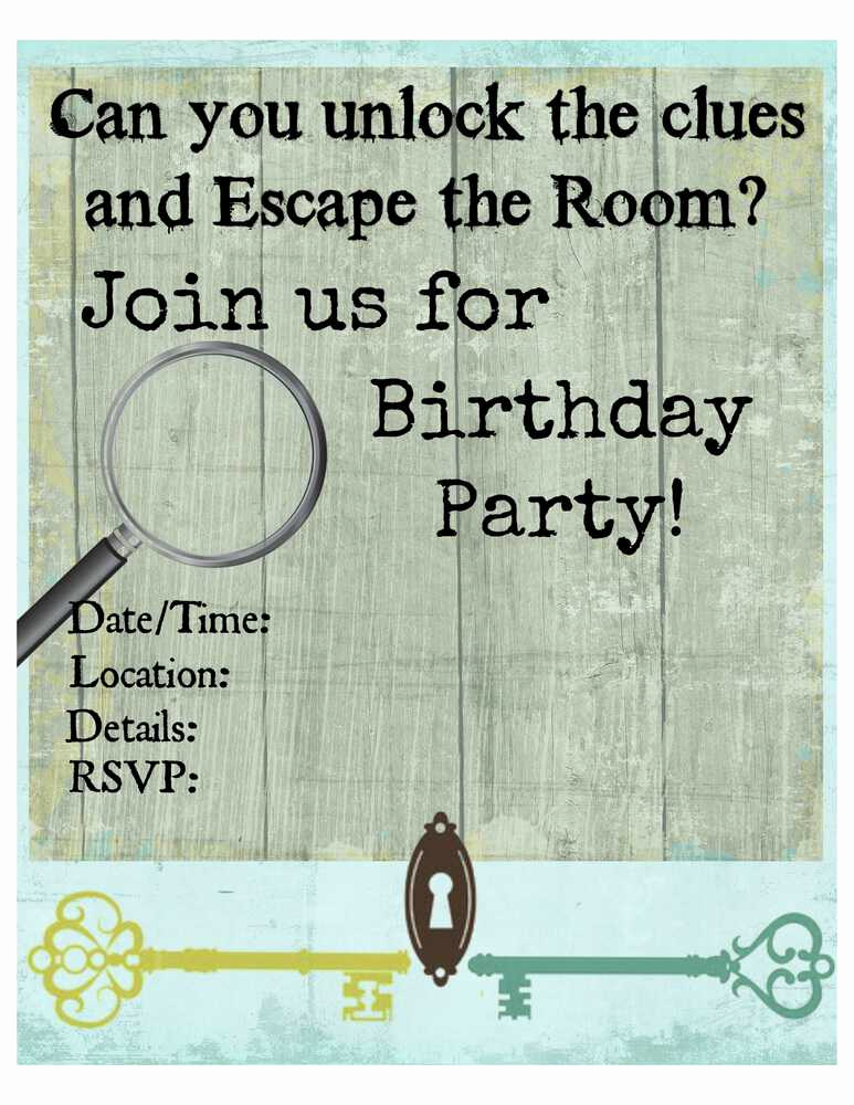 Escape Room Birthday Invitation Fresh Thanks for Subscribing to the Mom 6 Newsletter Here S