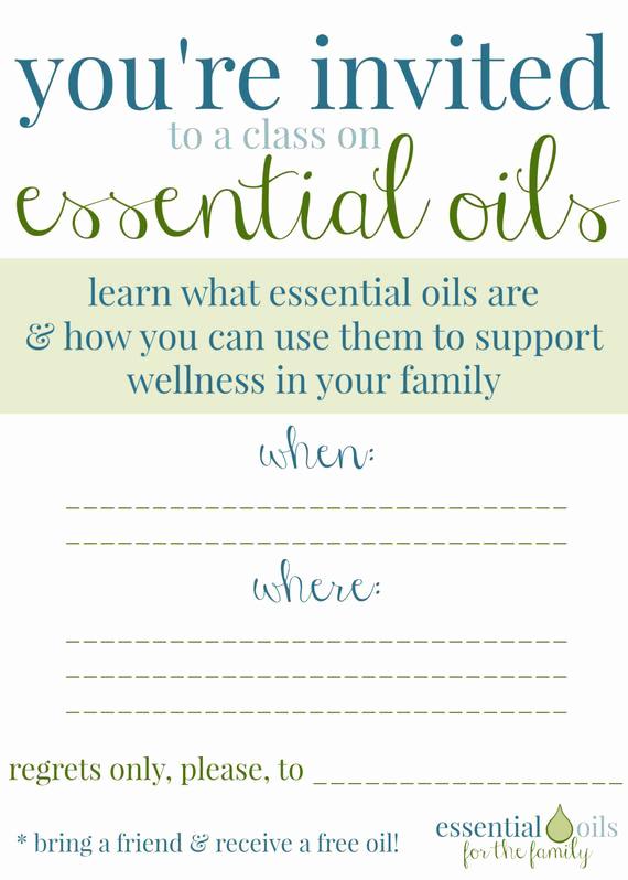 Essential Oils Class Invitation Awesome Custom Essential Oil Class Invitation by Edropdesigns On