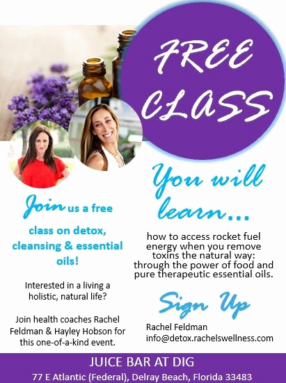 Essential Oils Class Invitation Awesome Free Class Doterra