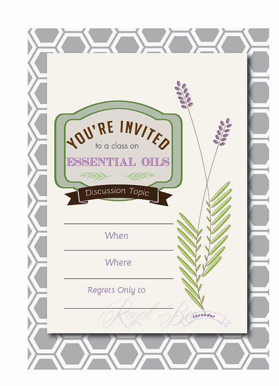 Essential Oils Class Invitation Elegant 24 Best Doterra Invitations Images On Pinterest