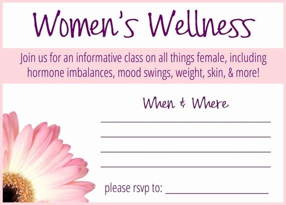 Essential Oils Class Invitation Lovely Women S Wellness Essential Oil Class Invitation by
