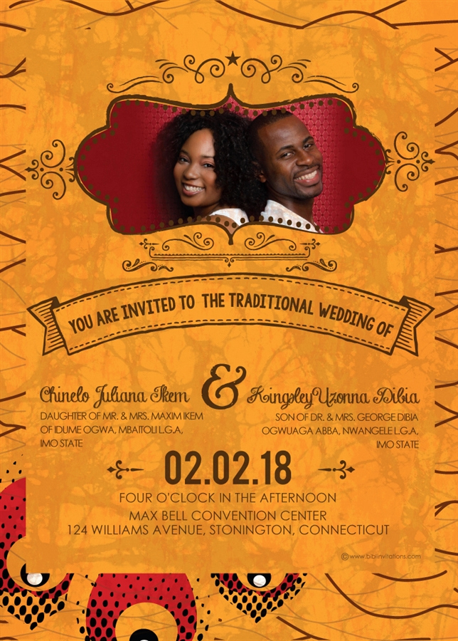 Ethiopian Wedding Invitation Card Awesome Printable African Wedding Invitation Card