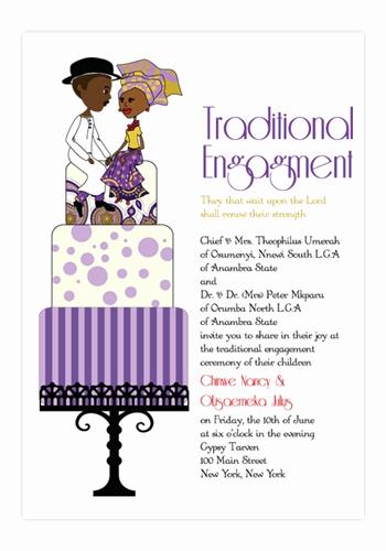 Ethiopian Wedding Invitation Cards Fresh Nigerian Traditional Wedding Invitation Card