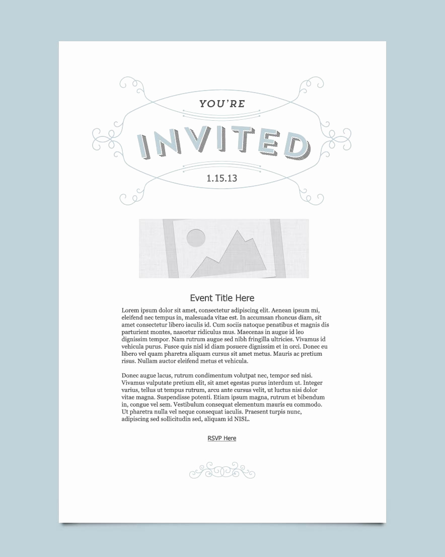 Event Invitation Email Template Best Of Invitation Email Marketing Templates Invitation Email