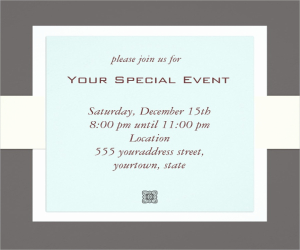 Event Invitation Email Template New 43 event Invitations In Psd Word Eps Ai