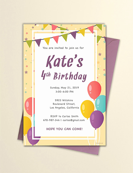 Example Of Birthday Invitation Lovely Free 13 Invitation Email Examples & Samples In Publisher