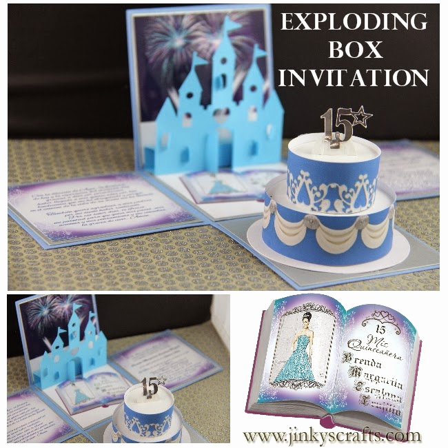 Exploding Box Invitation Kit Best Of Jinky S Crafts & Designs