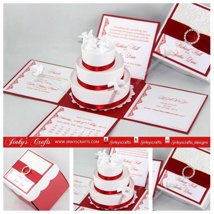 Exploding Box Invitation Kit Elegant 25 Best Ideas About Box Wedding Invitations On Pinterest