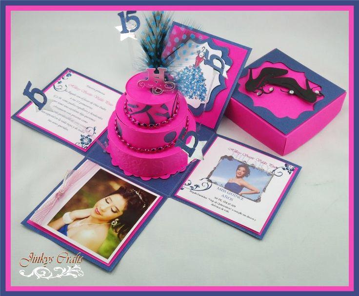 Exploding Box Invitation Kit Fresh Diy Quinceaneros