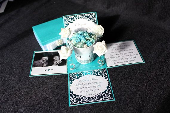 Exploding Box Invitation Kit Luxury 3 5 topiary Exploding Box Wedding Invitation by
