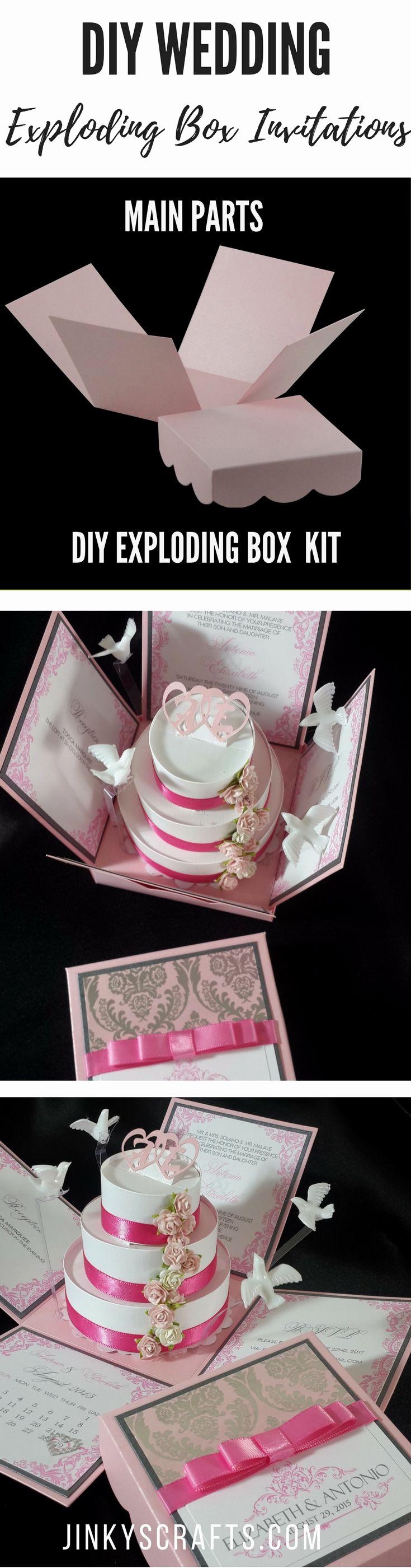 Exploding Box Invitation Kit Luxury Best 25 Box Wedding Invitations Ideas Only On Pinterest