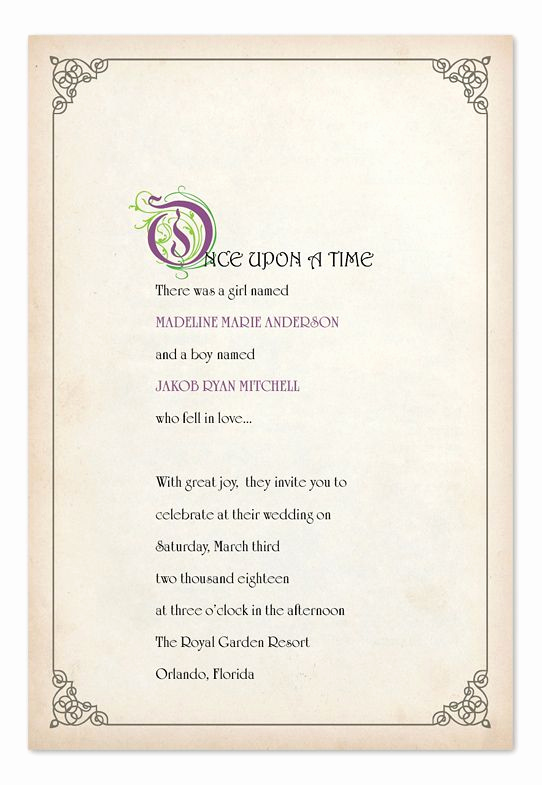 Fairytale Wedding Invitation Wording Elegant Best 25 Fairytale Wedding Invitations Ideas On Pinterest