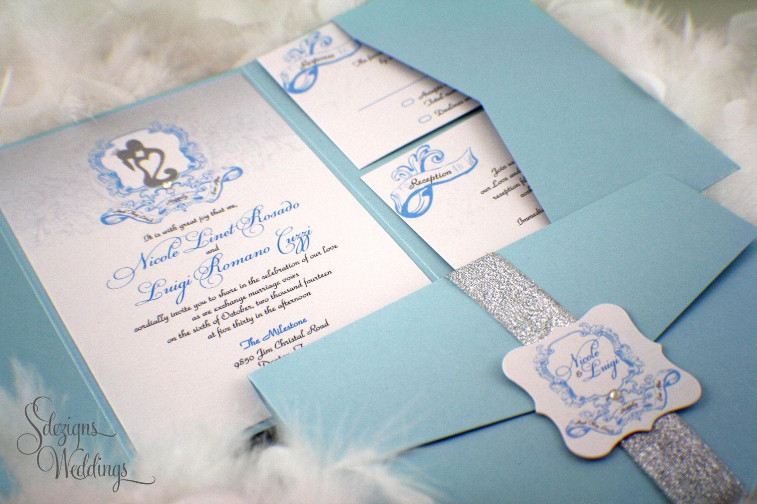 Fairytale Wedding Invitation Wording Inspirational Fairy Tale Wedding Invitations Whimsical Shimmery