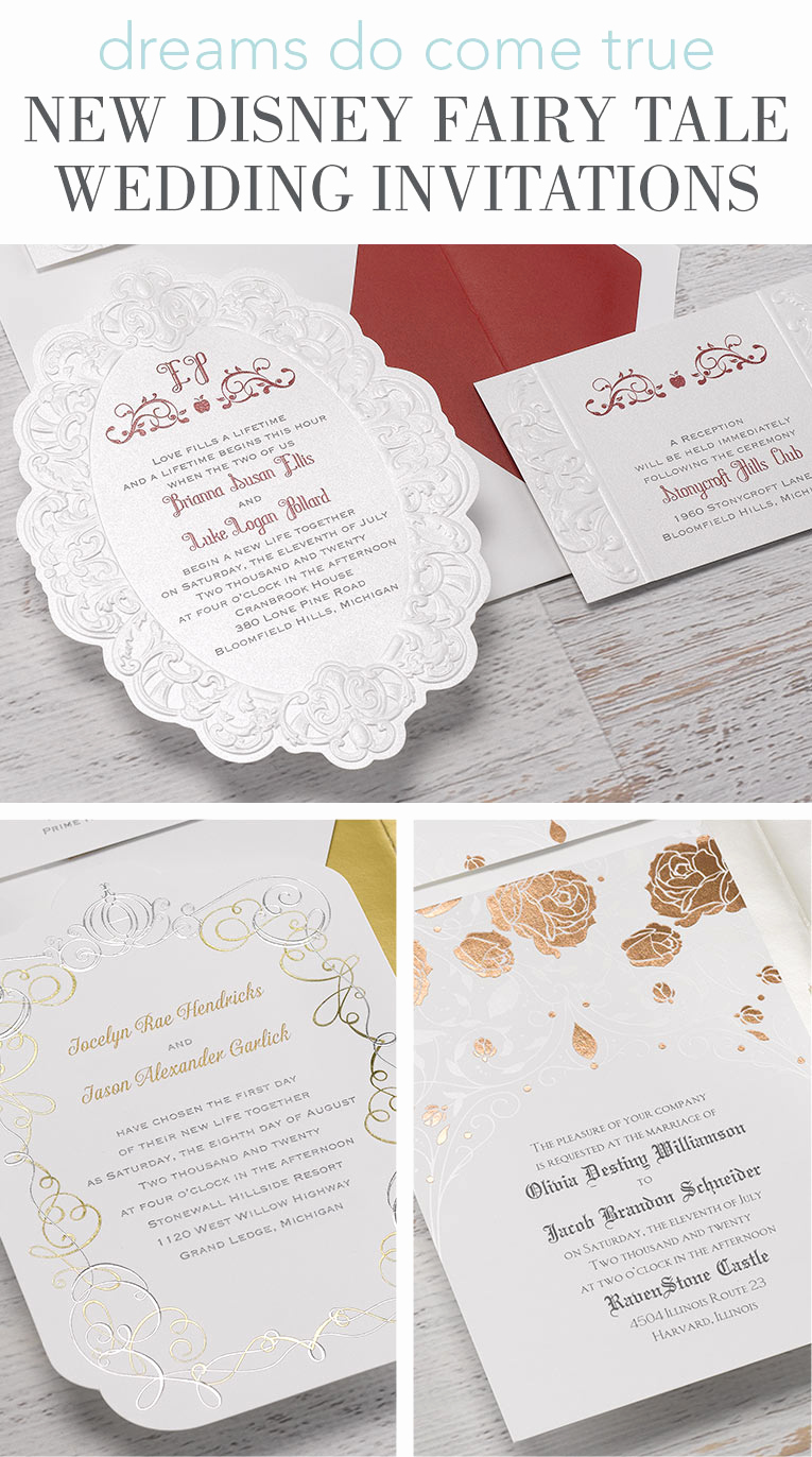 Fairytale Wedding Invitation Wording Inspirational New Disney Fairy Tale Wedding Invitations