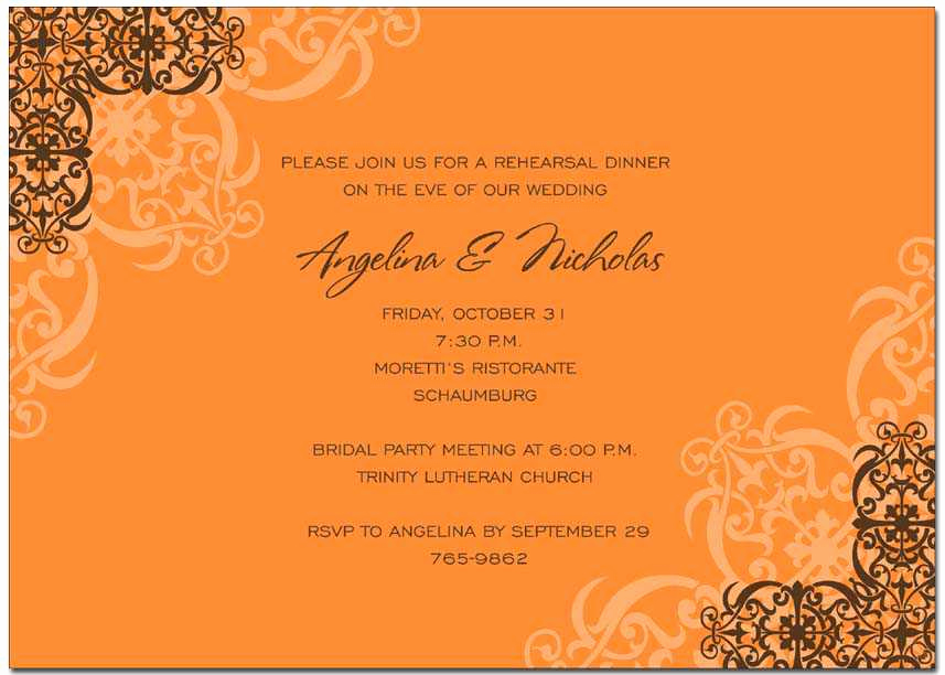 Fall Invitation Templates Free Beautiful Autumn Invitations Autumn Invitations for Special events