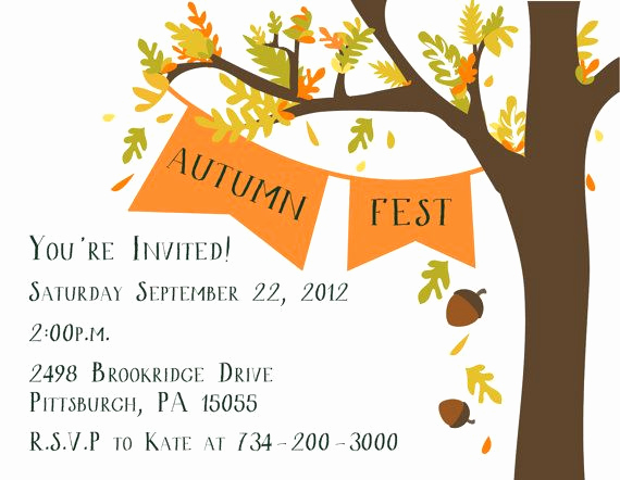 Fall Invitation Templates Free Best Of 1000 Ideas About Fall Party Invitations On Pinterest