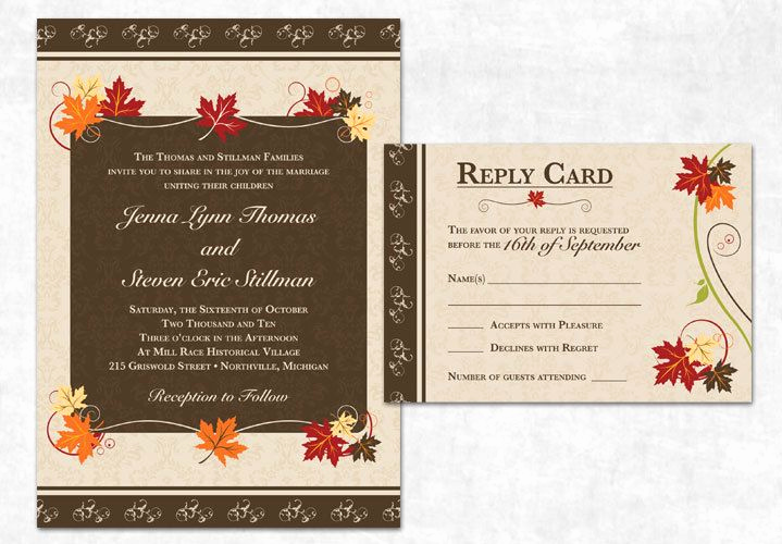 Fall Invitation Templates Free Lovely 42 Best Images About Fall Free Printables On Pinterest