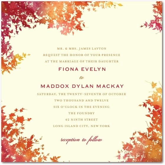 Fall Wedding Invitation Templates New 17 Best Images About Fall Wedding Invitations On Pinterest