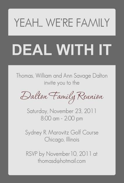 Family Reunion Invitation Ideas Beautiful 17 Best Ideas About Family Reunion Invitations On