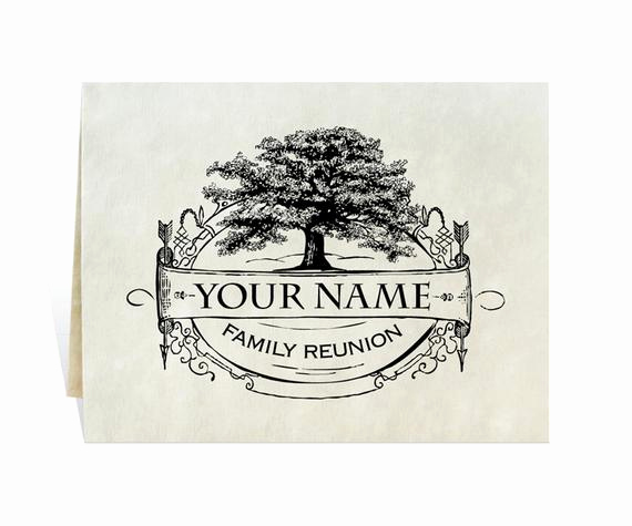 family reunion invitation with enough
