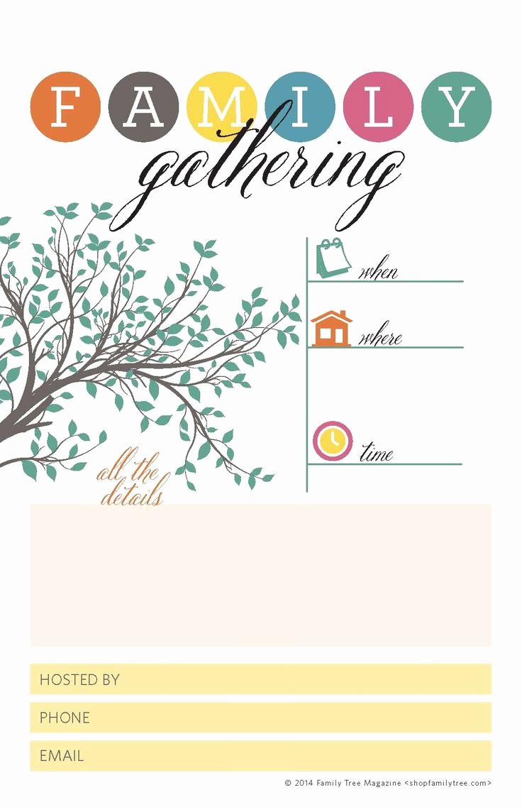 Family Reunion Invitation Ideas Fresh 1000 Ideas About Family Reunion Invitations On Pinterest