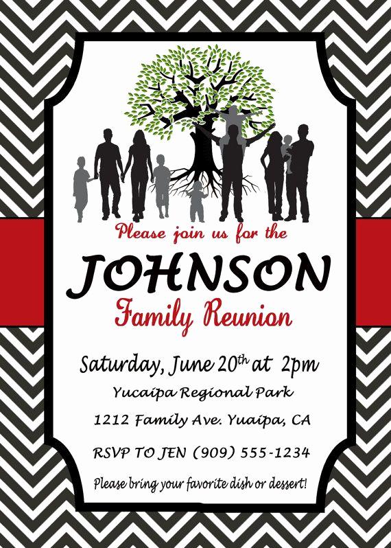 Family Reunion Invitation Ideas Inspirational 25 Best Ideas About Family Reunion Invitations On