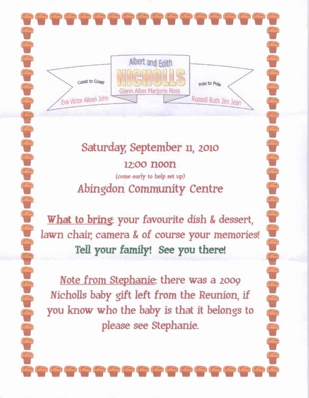 Family Reunion Invitation Ideas Inspirational Family Reunion Invitation