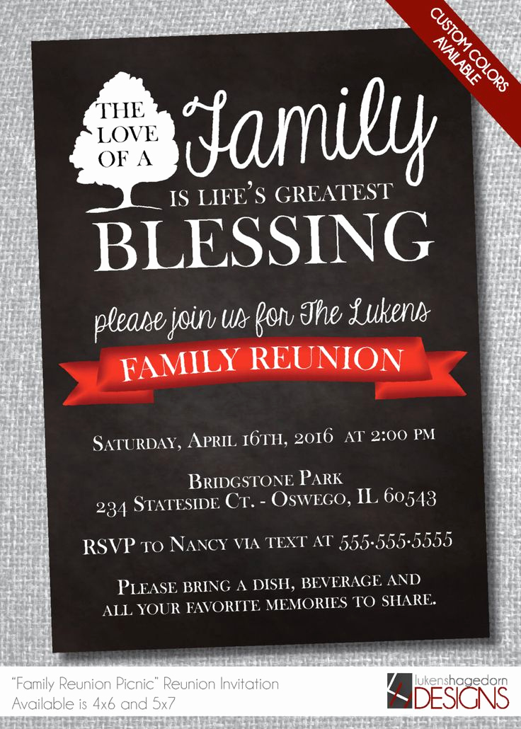 Family Reunion Invitation Ideas Lovely 1000 Ideas About Family Reunion Invitations On Pinterest