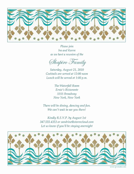 Family Reunion Invitation Letter Inspirational Family Reunion Invitation Letter Templates