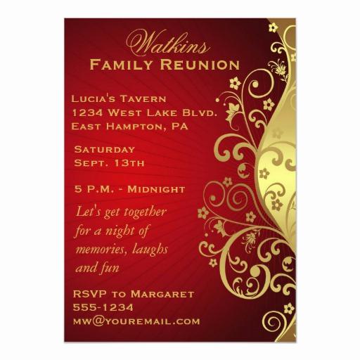 Family Reunion Invitation Sample Fresh Family Reunion Invitation