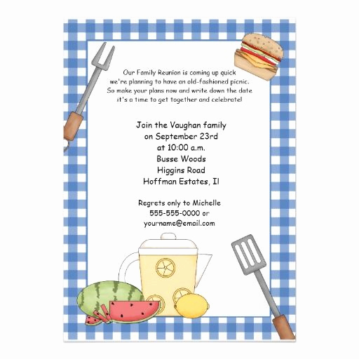 Family Reunion Invitation Templates Free Best Of 1000 Images About Picnic Invites On Pinterest