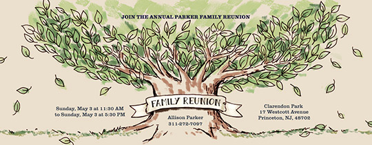 Family Reunion Invitation Templates Free Best Of Free Family Gathering Line Invitations