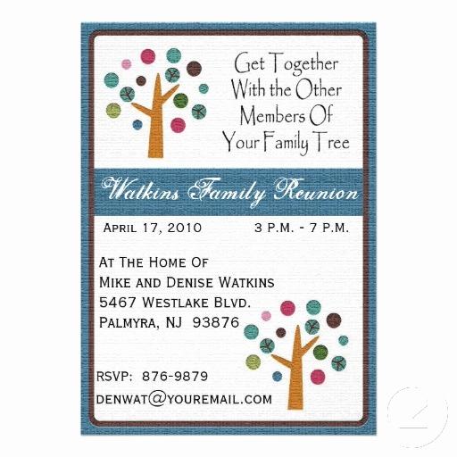 Family Reunion Invitation Templates Free Inspirational Family Tree Reunion Invitation Invitation