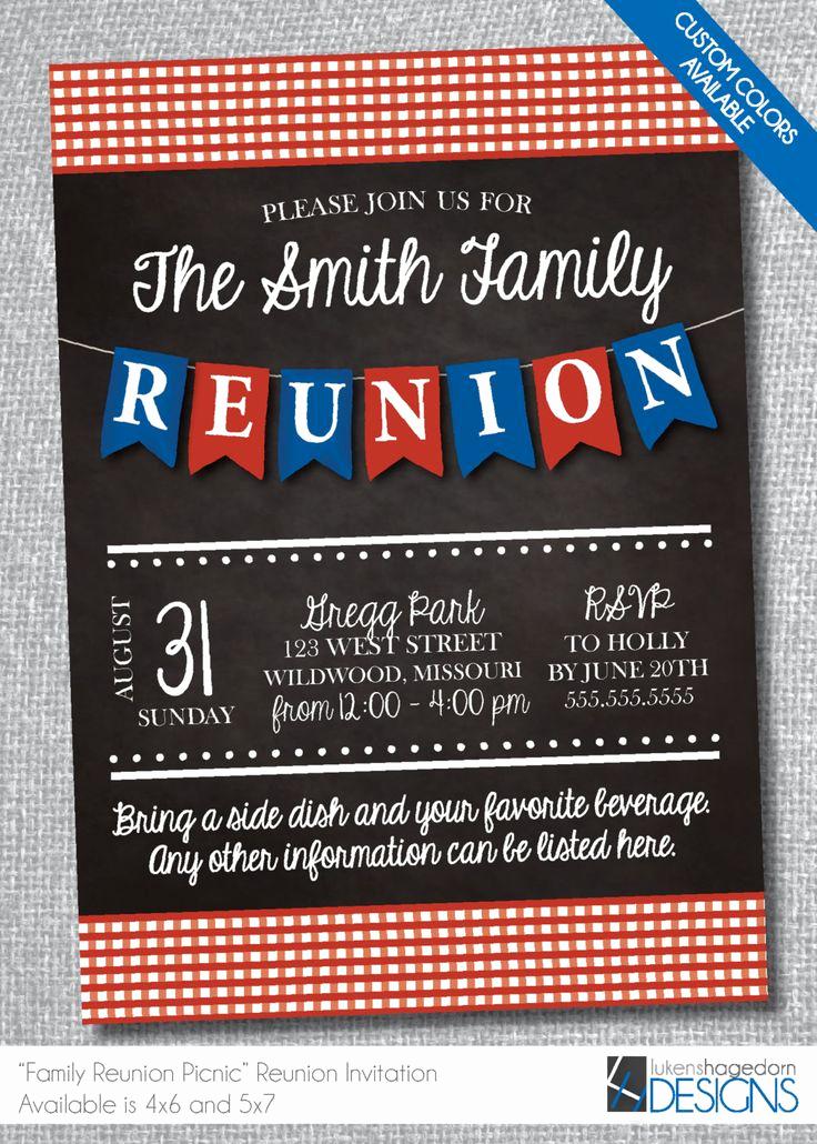 Family Reunion Invitation Wording Beautiful 25 Unique Family Reunion Invitations Ideas On Pinterest