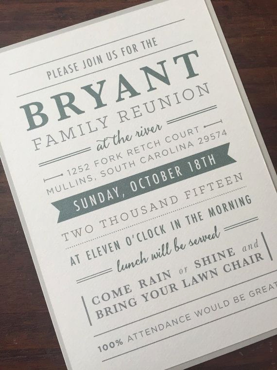 Family Reunion Invitation Wording Inspirational 25 Best Family Reunion Invitations Ideas On Pinterest