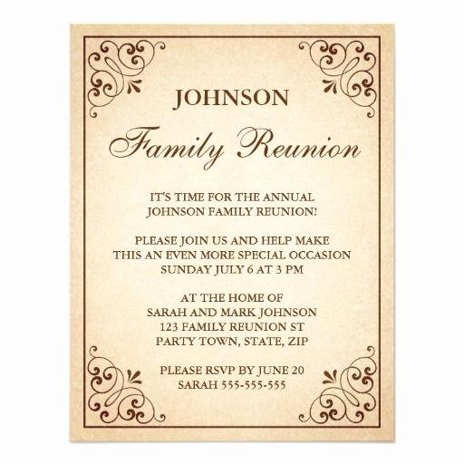 Family Reunion Invitation Wording Lovely 25 Best Family Reunion Invitations Ideas On Pinterest